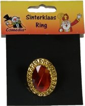 Sinterklaas ring verstelbaar ovaal