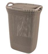 Curver Knit Wasbox - 57 l - Bruin