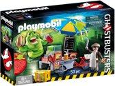 PLAYMOBIL Slimer en hotdogkraam  - 9222