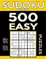 Sudoku Book 500 Easy Puzzles