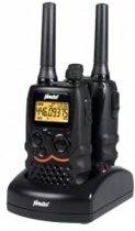 Alecto FR-58 Portofoon Twinset 7km | VOX functie, Trilfunctie en Headsetaansluiting | Zwart