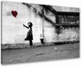 Heart - Canvas Schilderij 80 x 60 cm