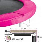 Salta Trampoline Beschermrand 244 cm Roze