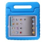 Kinder iPad 2 / 3 / 4 beschermhoes / tablethoes voor de kids met handvat blauw