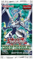 Yu-Gi-Oh! 3 Booster pakjes Code of the Duelist