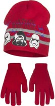 Kindermuts set|Star Wars|rood Mt 52