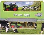 Kids Globe Boerderij set incl. traktor en koeien