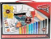 Disney Pixar Cars Spray Pen set – 19x14x1cm | Knutselen voor Jongens en Meisjes | Hobbypakket | Speelgoed