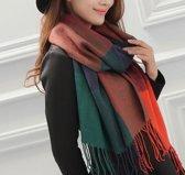 SanVitaleDS-RZ Dames Sjaal Omslagdoek Plaid Herfst Winter Mooie hippe shawl Modern