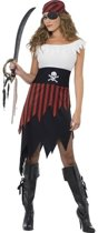 Piraten jurk / kostuum voor dames 36-38 (S)