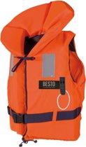 Besto Reddingsvest - Maat 3  - oranje/navy Maat 3: gewicht 20-30 kg / Drijfvermogen 40N