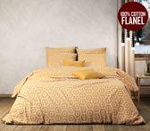 Luxe Flanel dekbedovertrek CasaBlanca Lits-Jumeaux 240x220