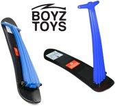 Boyz Toys – Sneeuwstep opvouwbaar – Snow Scooter – Sneeuwscooter kind - Snowboard met stuurstang – Blauw