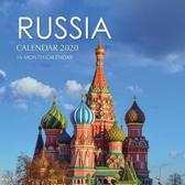 Russia Calendar 2020: 16 Month Calendar