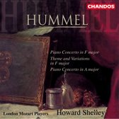 Hummel: Piano Concerto in F major etc / Shelley, London Mozart Players