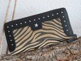 Stoere luxe portemonnee (zebra)