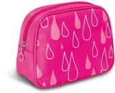Donegal Cosmetic Bag Pink 19,5x9x14,5cm - 4949