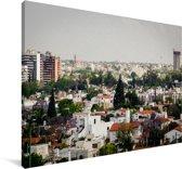 Skyline van het Spaanse Cordoba in Analusië Canvas 120x80 cm - Foto print op Canvas schilderij (Wanddecoratie woonkamer / slaapkamer) / Europese steden Canvas Schilderijen