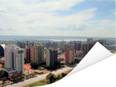 Noordkant van Brasilia in het Zuid-Amerikaanse Brazilië Poster 160x120 cm - Foto print op Poster (wanddecoratie woonkamer / slaapkamer) XXL / Groot formaat!