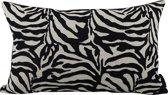 Kussen Zebra Gobelin-Velours 60x40