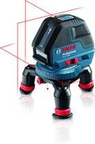 Bosch Professional GLL 3-50 Kruislijnlaser - Met BM1 Universele houder, LR 2 Laserontvanger en L-BOXX