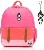 Babymel rugzak Zip & Zoe Junior Bright Pink Colour Block