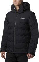 Columbia Wild Card Down Jacket Heren Wintersportjas - Black - Maat XL