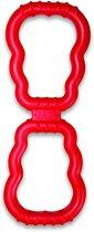 Kong Tug Toy - Kauwspeelgoed - 420 mm x 140 mm x 31 mm - Rood