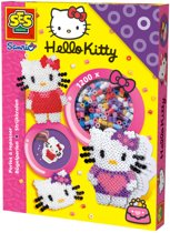 SES Strijkkralen - Hello Kitty