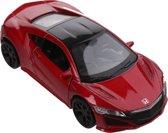 Welly Schaalmodel Honda 2015 Nsx 1:34 Rood 11,5 Cm