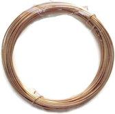Verguld draad 1,0mm (18 Gauge) voor het maken van sieraden - 4m