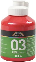 A-color Metallic acrylverf, rood, 03- metallic, 500 ml