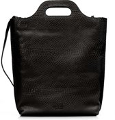 MYOMY Carry  Dames Shopper -  Anaconda Black
