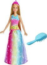 Barbie Dreamtopia Twinkelend Haar Prinses - Barbiepop