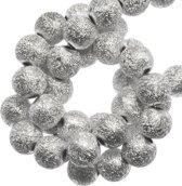 Acryl Kralen Stardust (8 mm) Silver (180 stuks)
