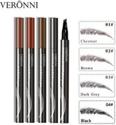 Microblading Eyebrow Tatoo Pen - Waterproof Eyebrow Tattoo Pen - Waterdichte Wenkbrauw Tattoo Pen - Waterproof Tattoo Pen Zwart