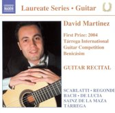 Guitar Recital: David Martinez