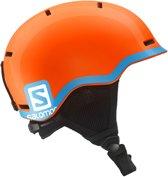 Salomon Skihelm - UnisexKinderen  - oranje/blauw S: 49-53cm
