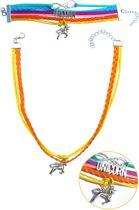 Eenhoorn armband en ketting | LOVE UNICORN sieraden set | KMJS001