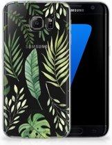 Samsung Galaxy S7 Edge Uniek TPU Hoesje Leaves