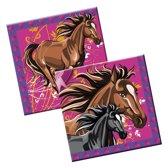 Paarden Servetten - 20 stuks