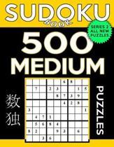 Sudoku Book 500 Medium Puzzles