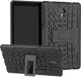 Knaldeals.com - Samsung Galaxy Tab A 10.5 (2018) hoesje - Rugged Hybrid Case - zwart