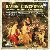 Haydn: Concertos for Oboe, Trumpet, Harpsichord / Pinnock