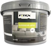 Fitex Muurverf Superieur Latex - Wit - 2,5 liter