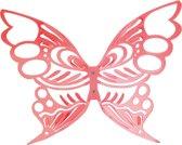 Pt, Juwelen houder vlinder - Rood