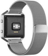 watchbands-shop.nl Milanees bandje - Fitbit Blaze - Zilver