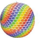 Lampion gekleurde stippen 26 cm