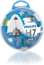 Philips 12V H7 auto reserve lampen set