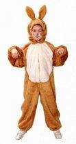 Bruine haas kostuum voor kinderen 164